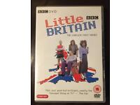 Little Britain DVD's - Complete Series 1 & 2