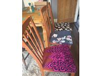 Dining chairs (3)