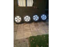 VW T5 16 inch alloys