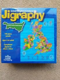 Jigraphy 100 Piece Puzzle by The Happy Puzzle Company - UK & Ireland