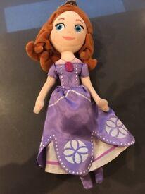 Sofia soft doll