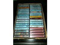 Job lot of 36 music Cassettes