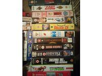 Video Films VHS a job lot of 100+ original movies