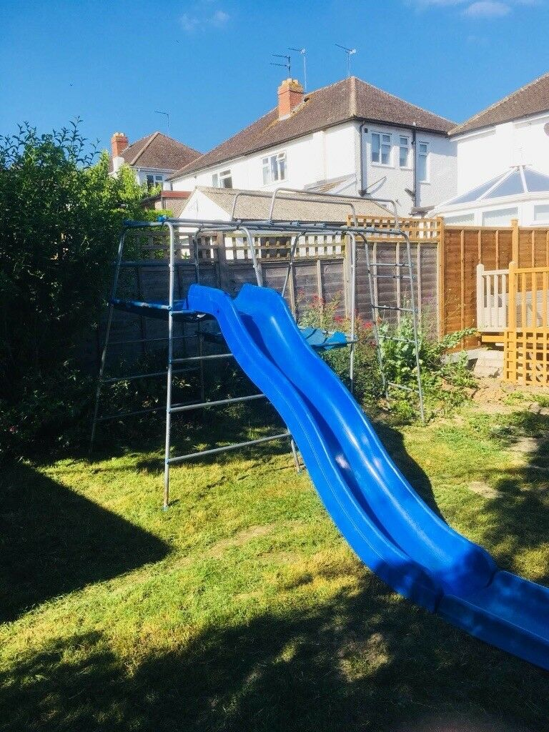 Climbing Frame With Wavy Slide Tp In Cheltenham