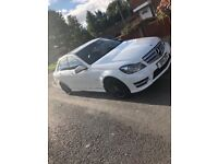 Mercades Benz c180 blue efficiency sport flappy paddle gear shift