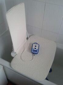 Aqua-joy Premier Plus Bath lift with back and seat cover
