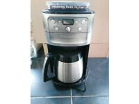 Hardly used Cuisinart DGB900BCU Grind & Brew Plus Coffee Maker
