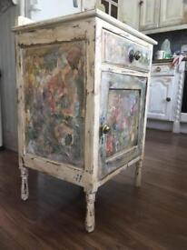 Furniture shabby chic quirky cupboard