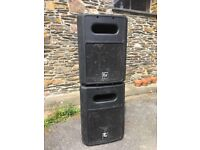 EV SB122 Passive subwoofer PA speakers - Electro-Voice
