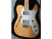 Fender Telecaster 72 Thinline upgraded