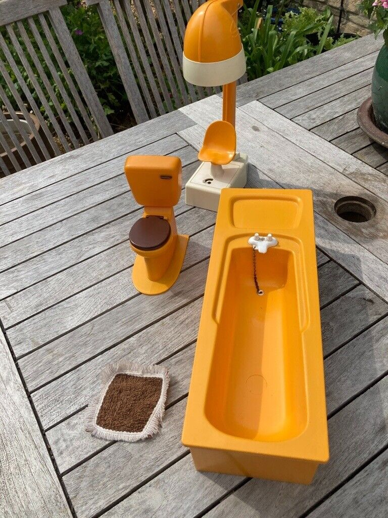 Original 9s Sindy bathroom set  in Stamford, Lincolnshire  Gumtree