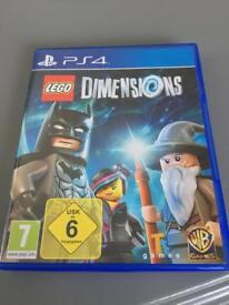 Lego Dimensions and characters PS4