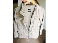 Beige Jacket size 8