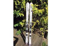 Salomon Powerline 24h 1720 skis - used just one season (2 weeks)