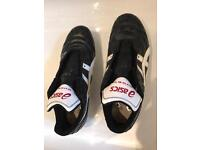 Asics rugby boots - size 9