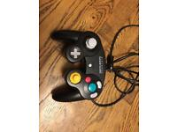 Official Nintendo black GameCube controller