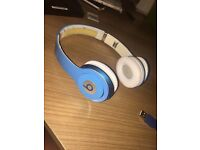 Beats solo headphones blue open to offers