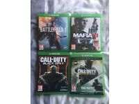 Xbox ones games bundle or sell seperate