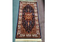 Navy Traditional Rug