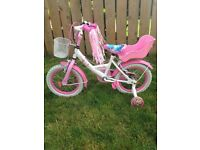 GIRLS BIKE PRINCESS AGE 3plus