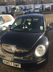 Black VW Beetle for sale, great condition and 1 year MOT