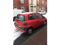 NEED GONE Toyota Yaris 1.0 Mint condition START AND DRIVES