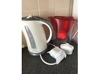 Kettle and water jug
