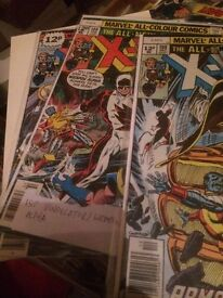 Comic collector selling a good range of Marvel DC indie titles + some graphic novels 2000 ad etc