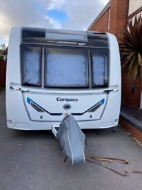 2019 Compass Connoisseur 860 used 7 times