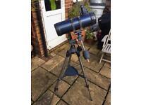 Telescope: Celestron AstroMaster 114EQ