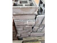 Decorative concrete screen wall blocks