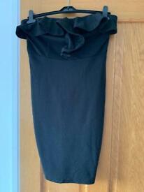 Women's black AX Paris strapless dress size 12