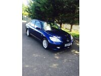 Honda civic Hybrid 1.4 eco mode with start and stop.
