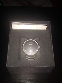 Borelli stainless steel watch