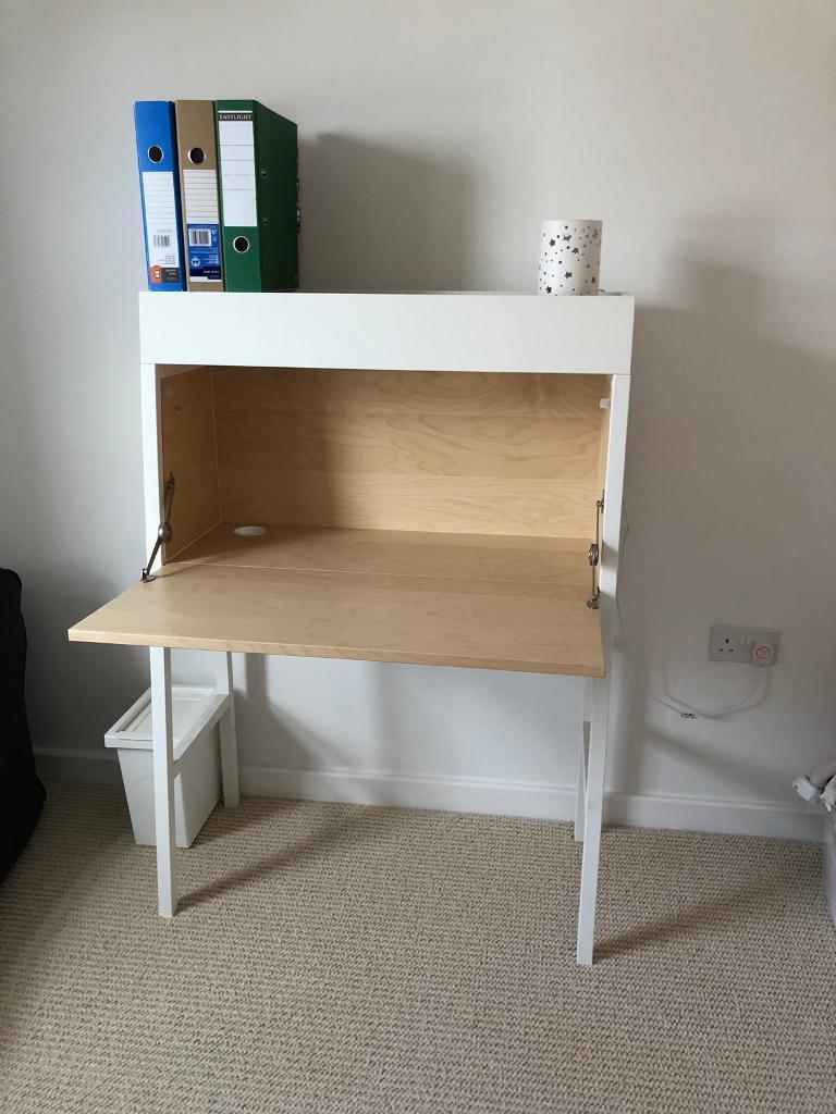Wonderbaar IKEA bureau/desk: Scandi, space saving, extremely solid!   in WG-44