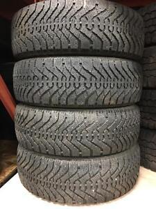 Set of 195/65R15 winter tires. 195 65 15