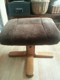 Retro footstool