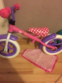 Disney Minnie Mouse 12 Inch Balance Bike