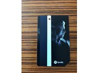 David Bowie limited edition NY transit metrocard