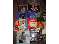 VINYL MIXED LOT-BILL HALEY/JERRY LEE LEWIS/TOM JONES ETC