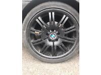 """Bmw alloys plus tyres 19""""x4"""