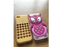 Two iPhone 5c Cases