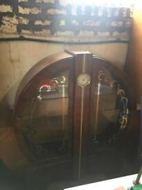 1930 circular china cabinet