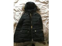 Zara quilted girls coat