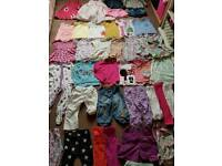 Baby girls clothes bundle size 12-18mths-40 items