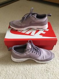 Lilac Nike trainers