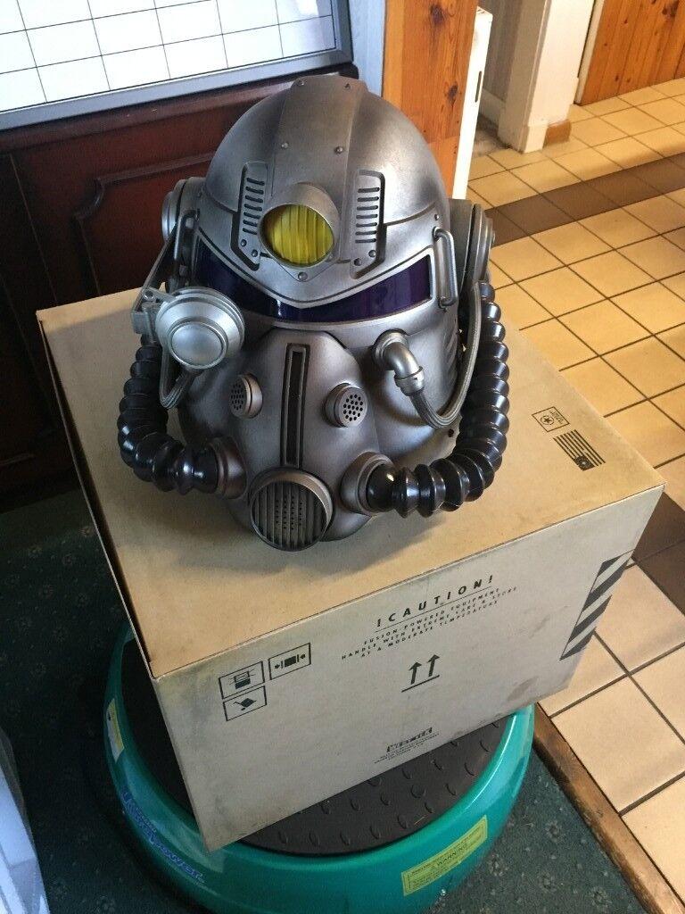 Fallout 76 Full Scale Wearable T 51 Power Armor Helmet In