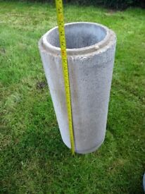 Dunbrik Concrete flue liners 8in round. Class A1. New and unused.