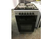 Teknix TK50TES 50cm Electric Double Cavity Oven - Silver