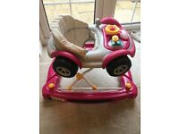 Mothercar 2 in 1 baby walker racing car